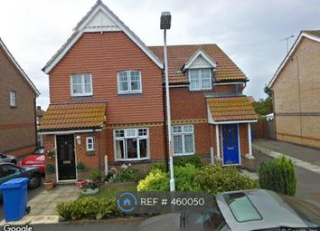 Thumbnail 2 bed semi-detached house to rent in William Rigby Drive, Minster On Sea, Sheerness