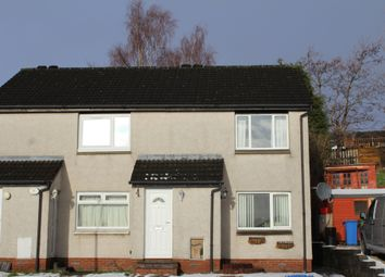 Thumbnail 1 bed flat to rent in Nevis Crescent, Alloa