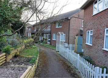 Thumbnail 1 bed terraced house for sale in Hillside Close, Bordon