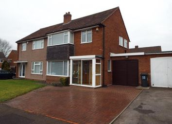 Thumbnail 3 bed semi-detached house for sale in Peach Ley Road, Selly Oak, Birmingham, West Midlands