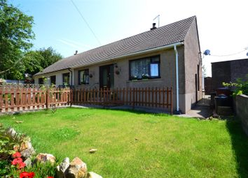 Thumbnail 3 bed semi-detached bungalow for sale in Halls Nook, Rosemarket, Milford Haven