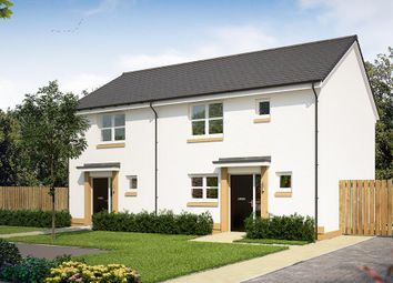 "Thumbnail 3 bed semi-detached house for sale in ""The Appleton"" at Glasgow Road, Denny"