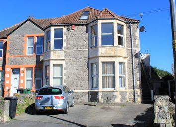 Thumbnail 4 bed flat for sale in Swiss Road, Weston-Super-Mare, North Somerset