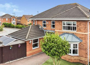 Thumbnail 4 bed detached house for sale in Whittles Cross, Wootton, Northampton