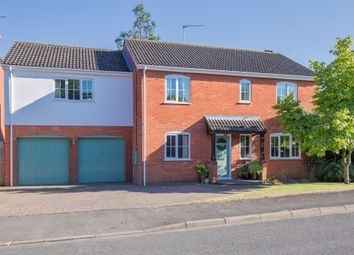 Thumbnail 5 bed detached house for sale in The Tithings, Kibworth, Leicester