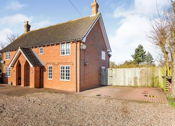 Thumbnail 3 bed semi-detached house for sale in Southolt Road, Bedfield, Woodbridge