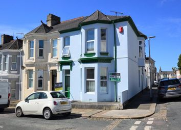 Thumbnail 4 bed end terrace house for sale in Maybank Road, Plymouth, Devon