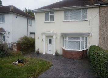 Thumbnail 3 bed semi-detached house to rent in Hannah Road, Bilston