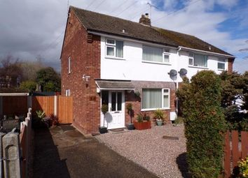 Thumbnail 3 bed semi-detached house for sale in Wood Lane, Hawarden, Deeside, Flintshire