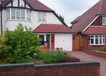 Thumbnail 3 bed semi-detached house to rent in Walsall Road, Great Barr