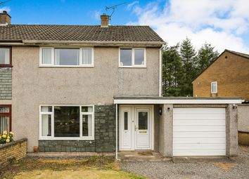 Thumbnail 3 bed semi-detached house for sale in Herries Avenue, Heathhall, Dumfries