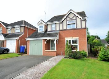 Thumbnail 4 bed detached house for sale in Hanchurch Close, Burton-On-Trent
