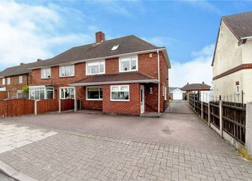Thumbnail 4 bedroom semi-detached house for sale in Sherwin Road, Stapleford, Nottingham