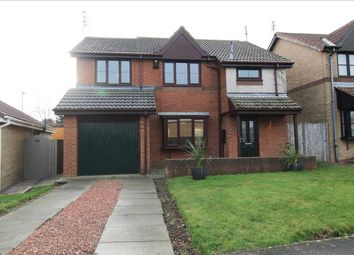 Thumbnail 4 bed detached house for sale in Pendleton Drive, Northburn Chase, Cramlington