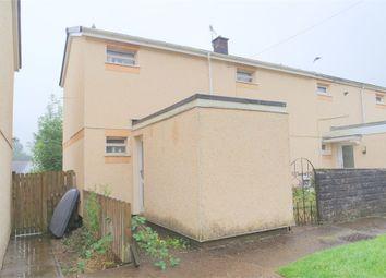 Thumbnail 3 bed end terrace house for sale in Tudor Estate, Caerau, Maesteg, Mid Glamorgan