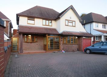 Thumbnail 4 bed detached house for sale in North Drive, Handsworth, Birmingham