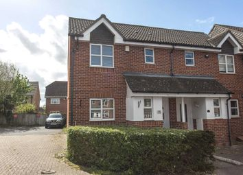 Thumbnail 2 bed end terrace house for sale in Latham Close, Darenth