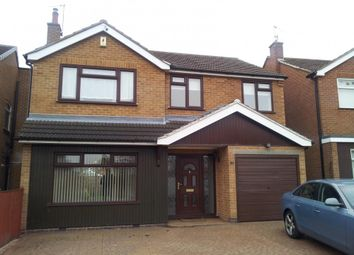 Thumbnail 4 bed detached house to rent in Vernon Drive, Nuthall, Nottingham