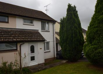 Thumbnail 2 bed semi-detached house for sale in Fernworthy Gardens, Copplestone, Crediton, Devon