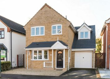 Thumbnail 3 bed detached house for sale in Riddiford Crescent, Brampton, Huntingdon