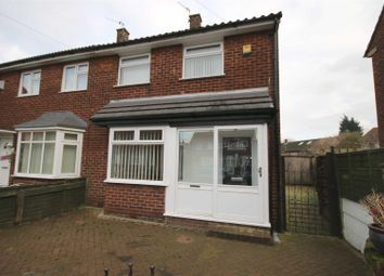 Thumbnail 3 bedroom semi-detached house to rent in Dunster Avenue, Clifton, Swinton, Manchester