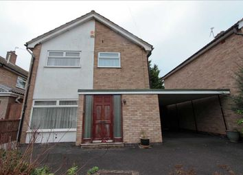 Thumbnail 3 bed detached house for sale in Yelverton Avenue, Leicester