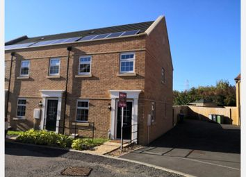 Thumbnail 3 bed end terrace house for sale in Witham Crescent, Bourne