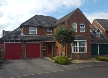 Thumbnail 4 bed detached house for sale in Wollaton Road, West Parley, Ferndown