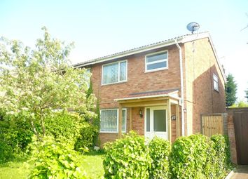 Thumbnail 3 bed semi-detached house for sale in Roche Way, Wellingborough