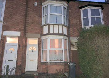 Thumbnail 2 bed town house for sale in Hopefield Road, Leicester