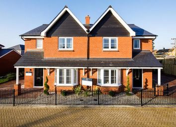 Thumbnail 3 bed semi-detached house for sale in The Grove, Stanbridge Road, Haddenham, Buckinghamshire