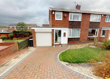 Thumbnail 3 bed semi-detached house for sale in St. Barnabas, Burnmoor, Houghton Le Spring