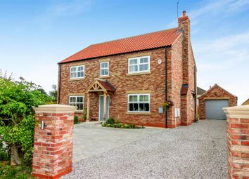 Thumbnail 4 bed detached house for sale in North Back Lane, Kilham, Driffield