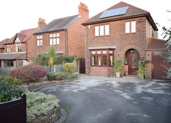 Thumbnail 3 bed detached house for sale in Church Lane, Nottingham