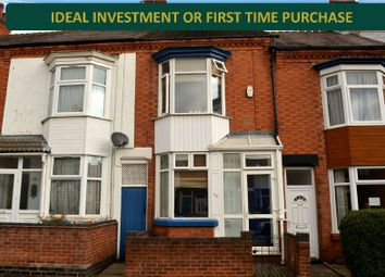 Thumbnail 2 bed terraced house for sale in Haddenham Road, Off Narborough Road, Leicester