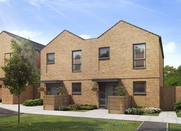 "Thumbnail 2 bedroom terraced house for sale in ""The Avedon"" at Harrow View, Harrow"