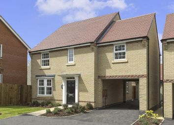 "Thumbnail 4 bedroom detached house for sale in ""Hurst"" at Snowley Park, Whittlesey, Peterborough"