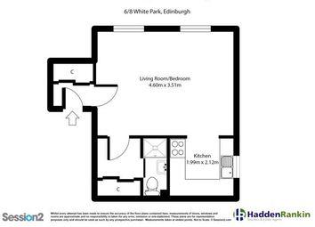 Thumbnail 1 bed flat to rent in White Park, Gorgie, Edinburgh