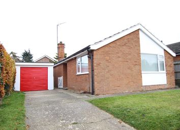 Thumbnail 2 bed detached bungalow for sale in Springfield Road, Lower Somersham, Ipswich, Suffolk