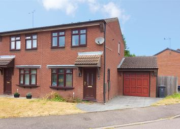 Thumbnail 2 bed semi-detached house to rent in Heathbank Drive, Huntington, Cannock