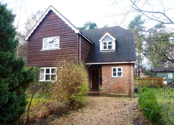 Thumbnail 3 bed detached house to rent in Grange Road, Tilford, Farnham