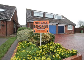 Thumbnail 4 bed semi-detached house for sale in Hatherley Cresent, Portchester