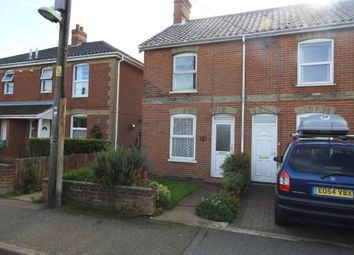 Thumbnail 3 bed end terrace house for sale in Kings Road, Leiston