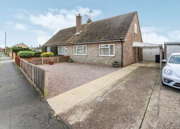 Thumbnail 3 bed semi-detached bungalow for sale in Snoots Road, Whittlesey Peterborough