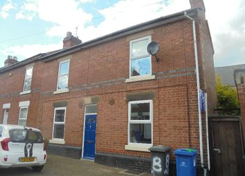 Thumbnail 2 bedroom end terrace house for sale in Olive Street, Derby, 3Rh
