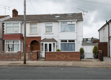 Thumbnail 4 bedroom semi-detached house for sale in Compton Road, Portsmouth