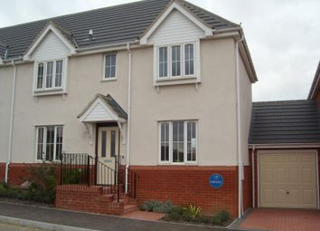 Thumbnail 3 bedroom semi-detached house to rent in Byron Close, Stowmarket