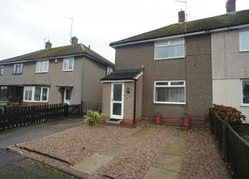 Thumbnail 2 bed semi-detached house to rent in Wood Road, Chaddesden, Derby