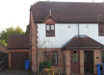 Thumbnail 2 bed end terrace house for sale in Seagrave Close, Oakwood, Derby