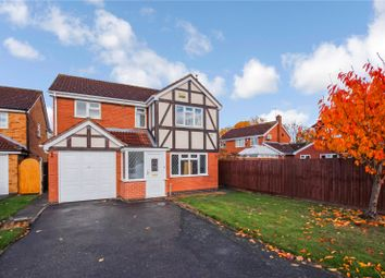 Thumbnail 4 bed detached house to rent in Kingfisher Close, Syston, Leicester, Leicestershire